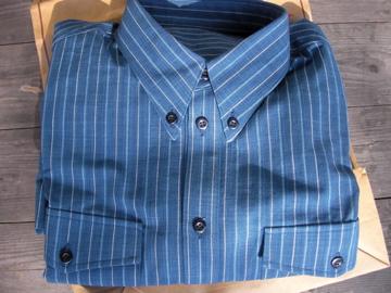 松阪木綿ワイシャツ