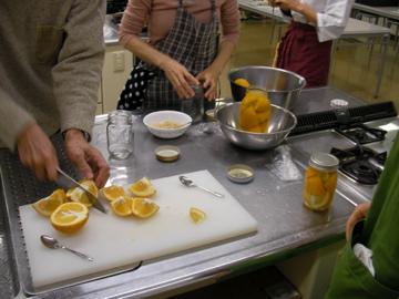柑橘酵母作り