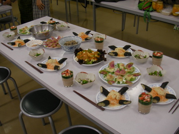 ローフード料理教室2