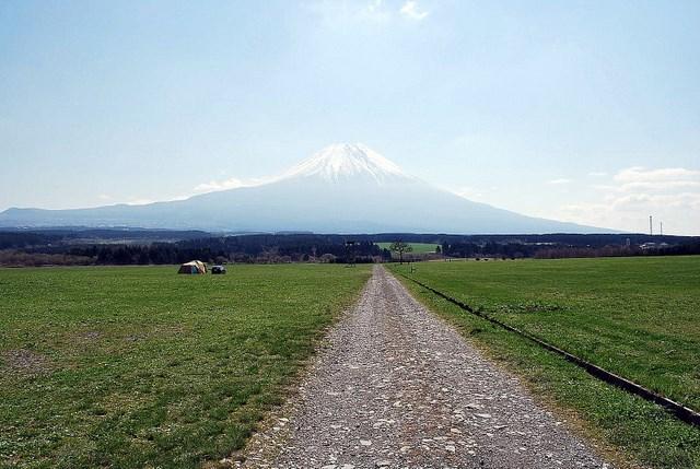 富士山とふもとっぱら
