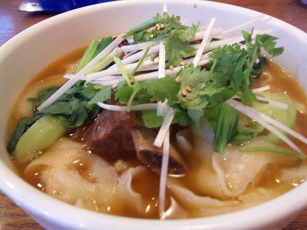 xian 排骨刀削麺
