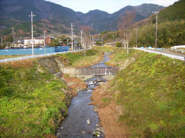 初冬の葛葉川35