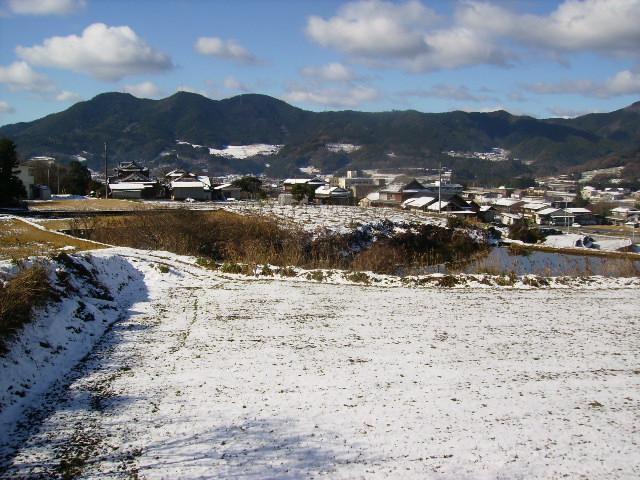 雪の田んぼ133