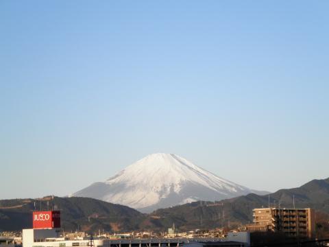 冬の富士山03
