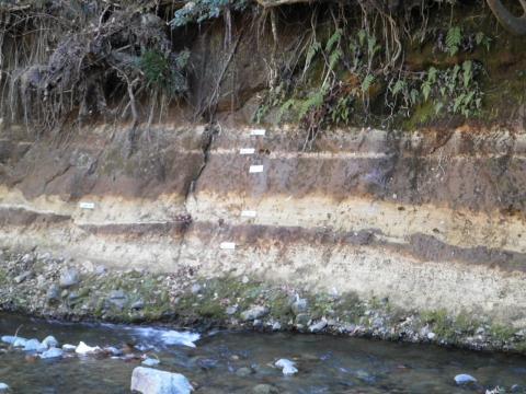 地層の壁54