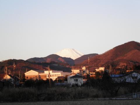 朝焼けの富士08