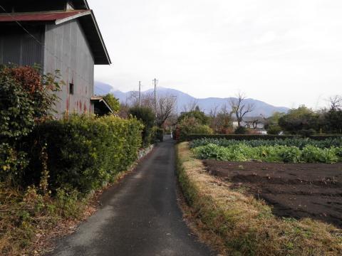 初冬の田舎道18