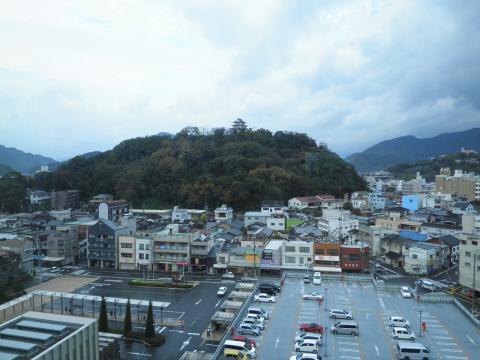 宇和島城を望む18