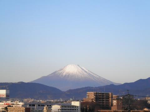 冬の富士88