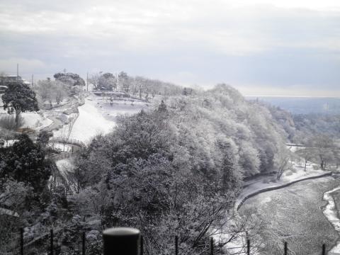 雪の日本庭園150
