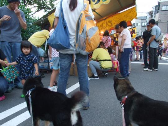 生根神社の夏祭り