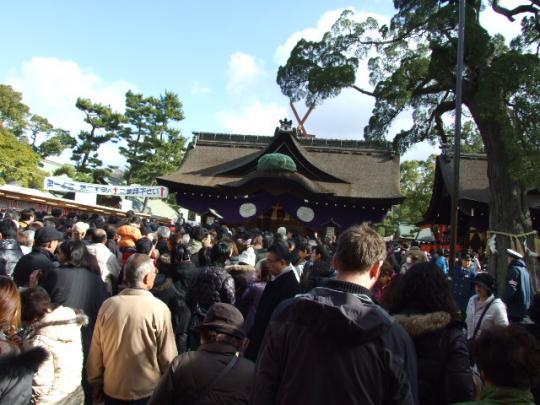 住吉大社の初詣