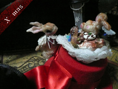 では、何度も登場パテシエウサギさんです♪
