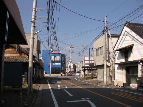 新田町の枡形跡