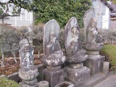 来迎寺の石仏群