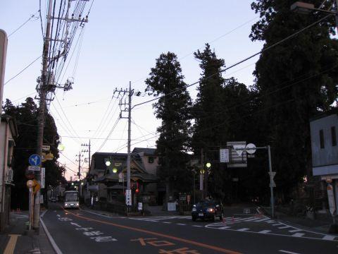日光街道・例幣使街道の追分