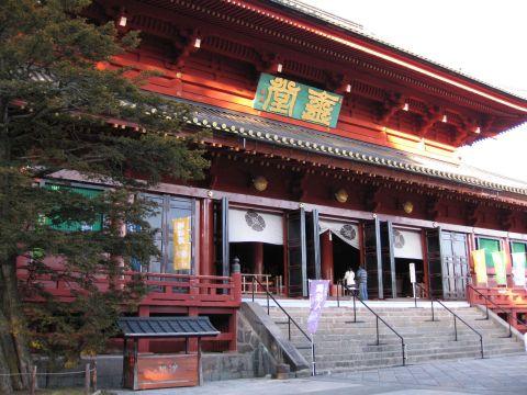 輪王寺三仏堂