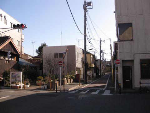 日光街道・水戸街道追分