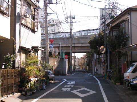 水戸街道・日ノ出町