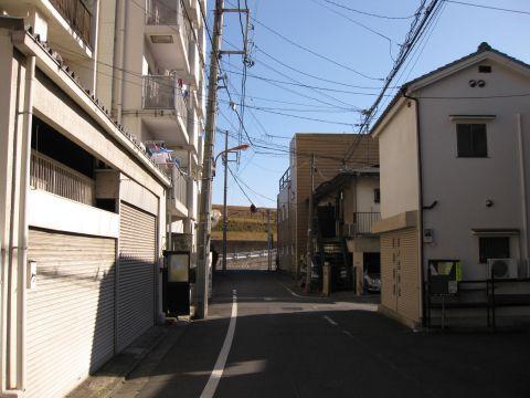 旧水戸街道・日ノ出町