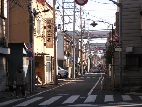 旧水戸街道・小菅