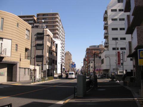 旧水戸街道・亀有一里塚跡