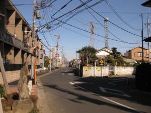 水戸街道・国分道の追分