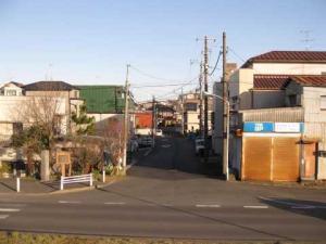 松戸宿入口