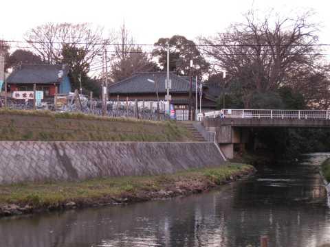 坂川と春雨橋