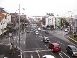 国道6号・八ヶ崎交差点