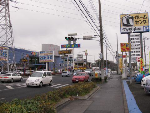 国道6号 八ヶ崎・二ツ木