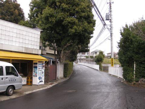 旧水戸街道・二ツ木