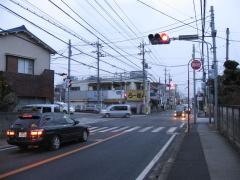 水戸街道・日光東往還の分岐点