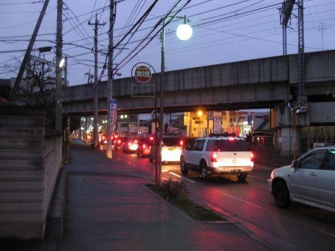 旧水戸街道・富里
