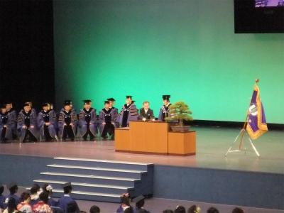 徳大卒業式7