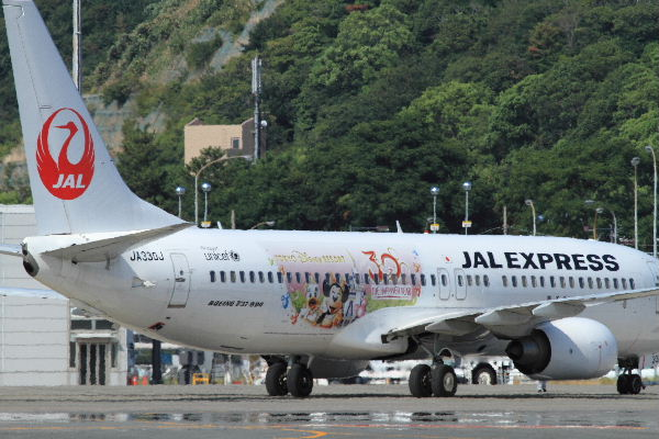 JEX B737-846 JA330J HappnesExpress RJOM 130819 05