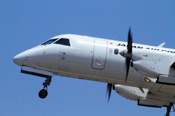 JAC Saab 340B JA8594 RJOM 130819 01