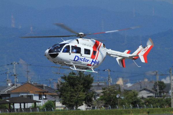 川崎BK117C-2 JA6932 RJOM 130819 01