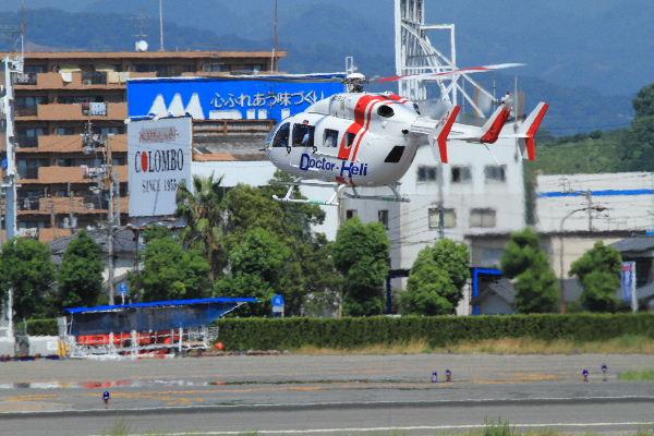 川崎BK117C-2 JA6932 RJOM 130819 02