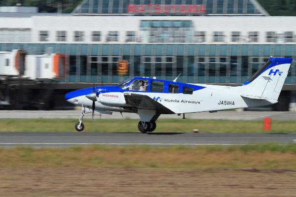 Beachcraft 58 Baron JA51HD RJOM 130827 05