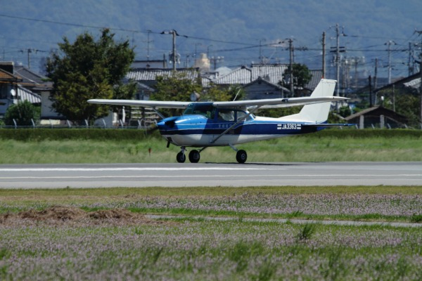 愛媛航空 Cessna172H JA3363 RJOM 130917 01