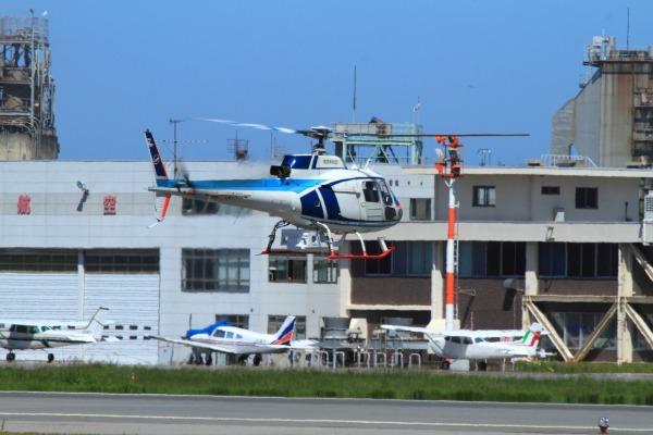 中日本航空 AS350B Ecureuil JA9411 RJOM 130914 03