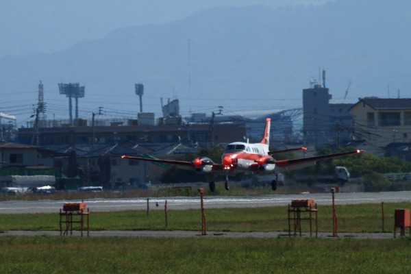 JMSD TC-90 King Air 202-6838 RJOM 131028 01