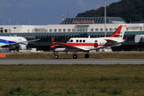 JMSD TC-90 King Air 202-6838 RJOM 131028 03