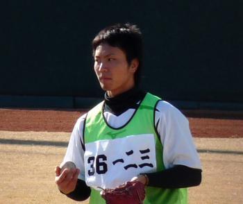 絵日記1・15鳴尾浜若手5