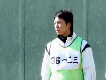 絵日記1・15鳴尾浜若手2
