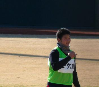 絵日記1・15鳴尾浜若手4