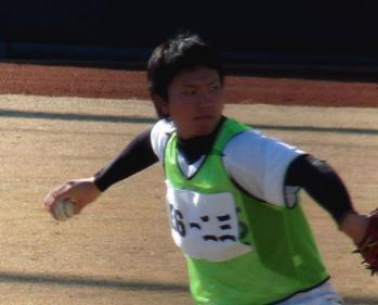 絵日記1・15鳴尾浜若手6