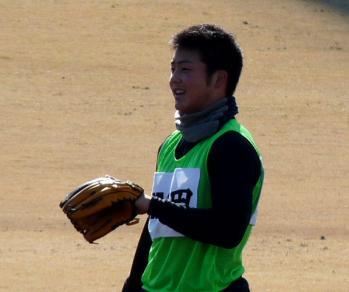 絵日記1・15鳴尾浜若手8