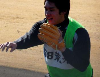 絵日記1・15鳴尾浜若手12